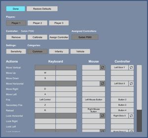 Rewired Documentation | Control Mapper