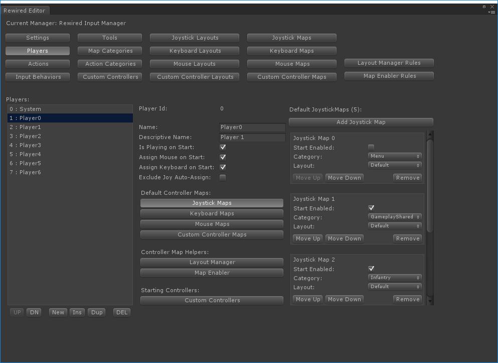 Rewired Documentation   Rewired Editor